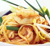 Stir Fried King Prawn Chow Mein